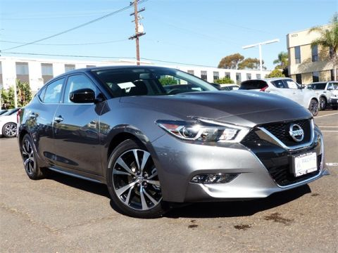 New 2018 Nissan Maxima 3.5 S FWD 4D Sedan