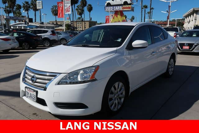 Pre-Owned 2015 Nissan Sentra SV FWD 4D Sedan