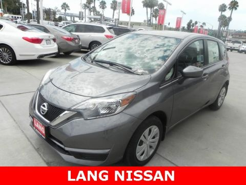 New 2018 Nissan Versa Note S FWD 4D Hatchback